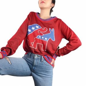 NWT Humping Elephant Longsleeve Pullover Sweater